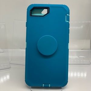 Accessories - iPhone 6/7/8 Plus Good Protection Blue Case